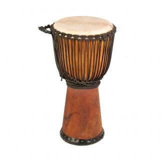 This is product image of Drums for Schools' Djembe Natural Wide Top 12 inch diameter, 60cm high
