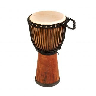 This is product image of Drums for Schools' Djembe Natural Wide Top 10 inch diameter, 50 cm high