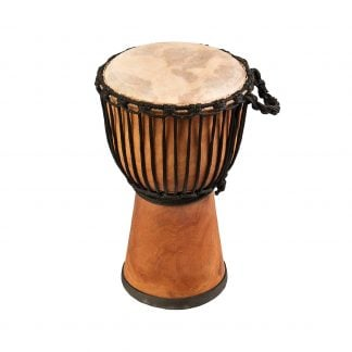 This is product image of Drums for Schools' Djembe Natural Wide Top 9 inch diameter, 40cm high