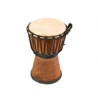 This is product image of Drums for Schools' Djembe Natural Wide Top 8 inch diameter, 30cm high
