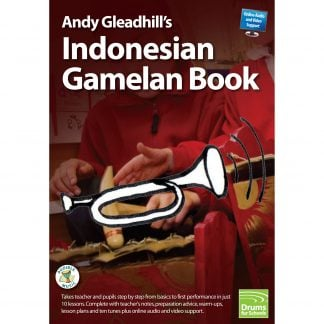 Andy Gleadhills Indonesian Gamelan Book audio cover