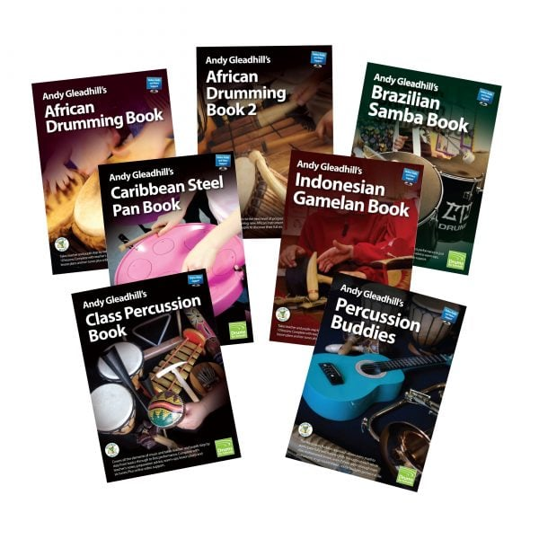 Image showing of Andy Gleadhill's Teaching Guide Books Montage