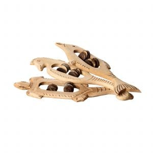 This is a product image of set of 3 Animal Tambourines Early Years laid out flat