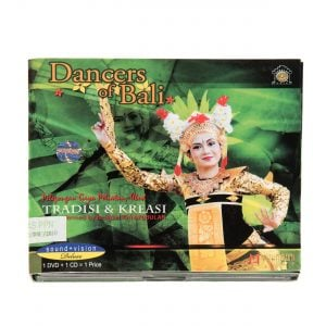 This is a product image of the case for the Dancers of Bali: Pelegongan Gaya Peliatan, Ubud 2 x DVD.