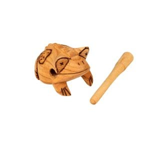 Frog Scraper - Medium - Early Years, with the stick removed.