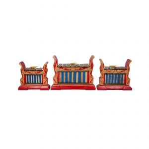 Gamelan - Premium - 7 key - 3 Pack, head on shot.