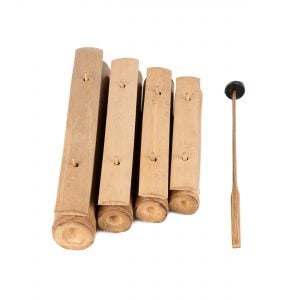 This is a product image of Gamelan bamboo 4 key separate beater main shot.