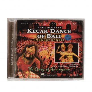 This is a product image of the cover of the Kecak Dance of Bali CD.