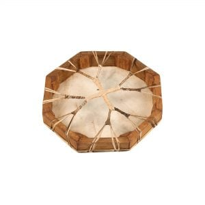 Shaman Drum - 12in (30cm) diameter, with painted rear detail.