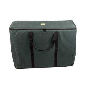 Storage Carry Bag for 3 x 60cm Djembe Drums. The bag is upright and closed.