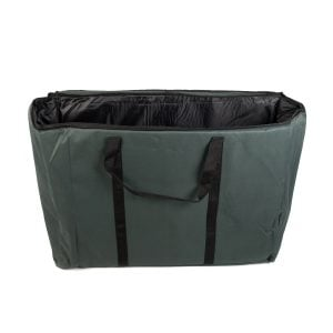 Storage Carry Bag for 3 x 60cm Djembe Drums. The bag is open and empty.