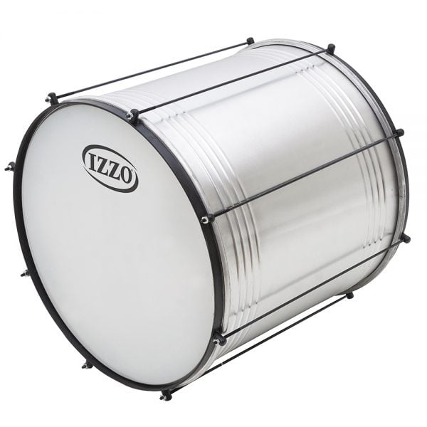 Surdo Economy 18in diameter aluminium IZZO, from side front.
