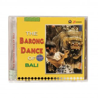 This is a product image of the cover of The Barong Dance of Bali: The Dance Drama of Singapadu Village CD.