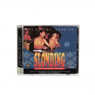 This is a product image of the cover of The Best of Gamelan Slonding CD.