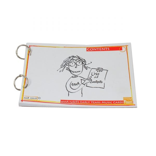 This is a product image of annA rydeRs Music Cards set of 10