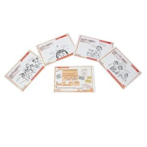 This is a product image of annA rydeRs Music Cards set of 30, all cards laid out.