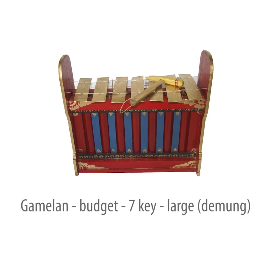 Image of Drums for Schools Gamelan Budget Large 7 Key with caption