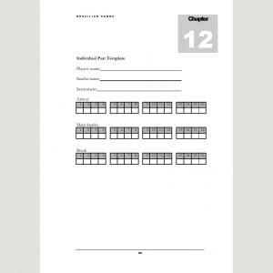 Image showing Individual Part Template from Andy Gleadhill's Brazilian Samba Teaching Guide