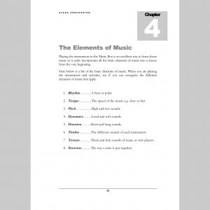 Image showing Elements page from Andy Gleadhill's Class Percussion.