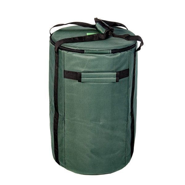 This is product image of Drums for Schools' storage carry bag for 12 inch diameter repinique and caixa.