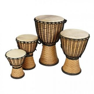 African Drumming Bamboo Djembe Drums