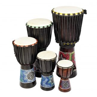 African Drumming Budget Djembe Drums