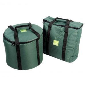 This is product image of storage carry bag for 5 x jumbie jam steel pans