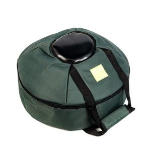 This is a product image of Drums for Schools storage carry bag for 3 gongs set of 30cm, 50cm and 80cm diameter gong.
