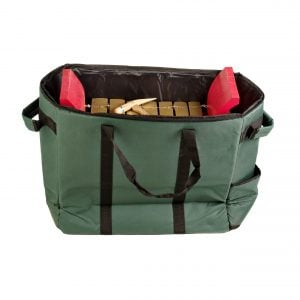 This is a product image of Drums for Schools storage carry bag for gamelan premium medium 7 key, opened.