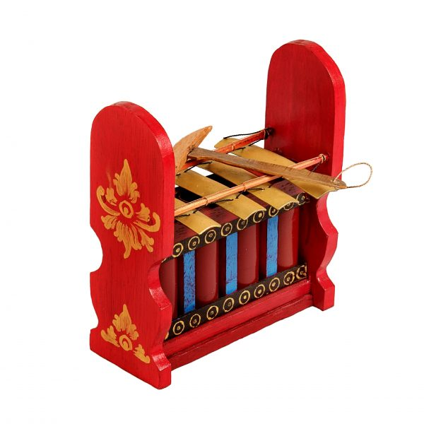 This is a product image of Drums for Schools Gamelan Budget Medium 4 key, from different angle.