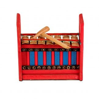 This is a product image of Drums for Schools Gamelan Budget Small 7 key.