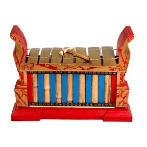 This is a product image of Drums for Schools Gamelan Premium Large 7 key.