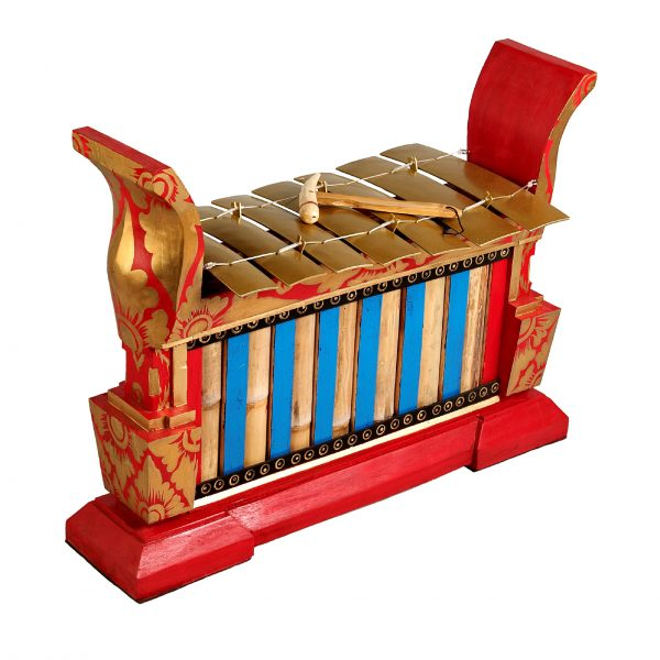 This is a product image of Drums for Schools Gamelan Premium Large 7 key, from different angle.