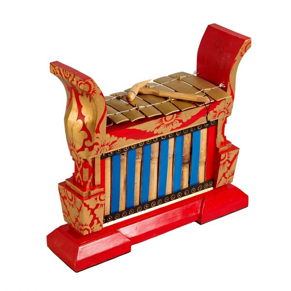 This is a product image of Drums for Schools Gamelan Premium Medium 7 key, from different angle.