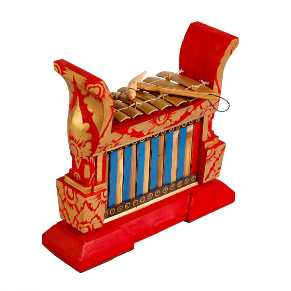 This is a product image of Drums for Schools Gamelan Premium Small 7 key, from different angle.
