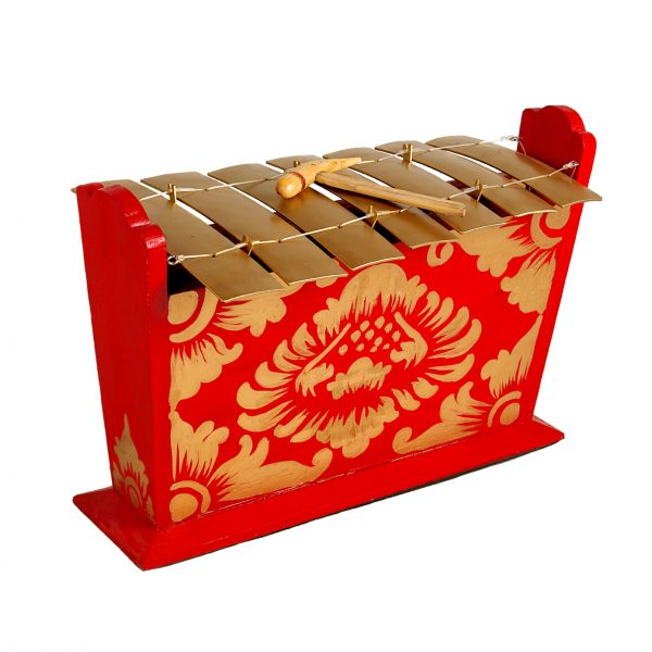 This is a product image of Drums for Schools Gamelan Standard Large 7 key, from different angle.