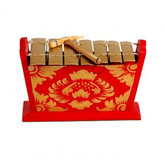 This is a product image of Drums for Schools Gamelan Medium Small 7 key.