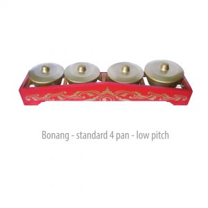 Bonang Standard 4 Pan - Low Pitch