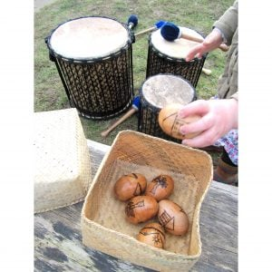 This is a product image of drums and eggs kit