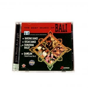 Image of cover of The Best Music of Bali CD.