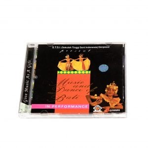 Image of cover of Music and Dance of Bali in performance CD.