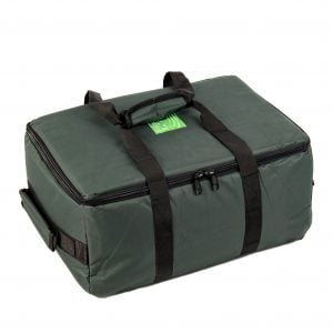 This is a product image of Drums for Schools small size storage bag for percussion closed