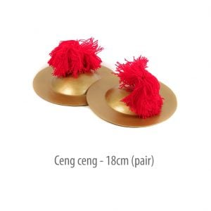 This is a product image of Drums for Schools' Ceng-ceng 18cm pair