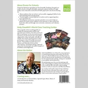 Back Cover of Andy Gleadhill African Drumming 2